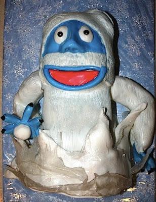 Doces em formato de bonecos de neve